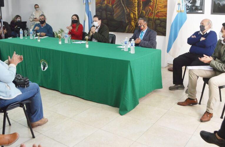 Reunión con representantes de ONG's y la CGT